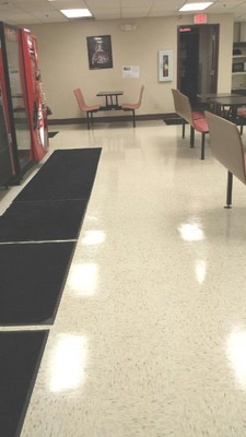 Floor cleaning in Hapeville GA by BlackHawk Janitorial Services LLC