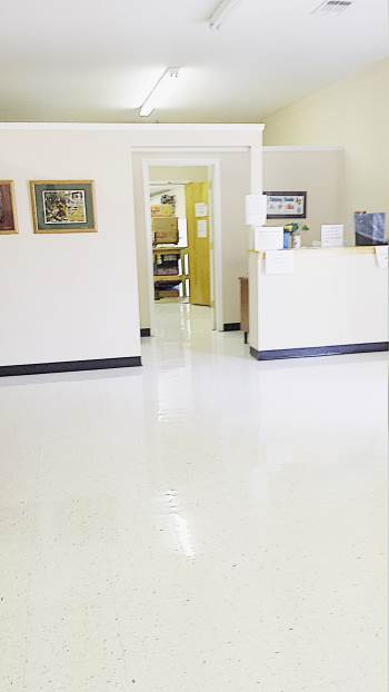 Before and After Floor Cleaning and Waxing in Paulding County, GA